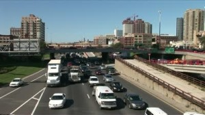 stock-footage-chicago-il-circa-september-traffic-on-a-highway-outside-of-the-city-flows-in-both